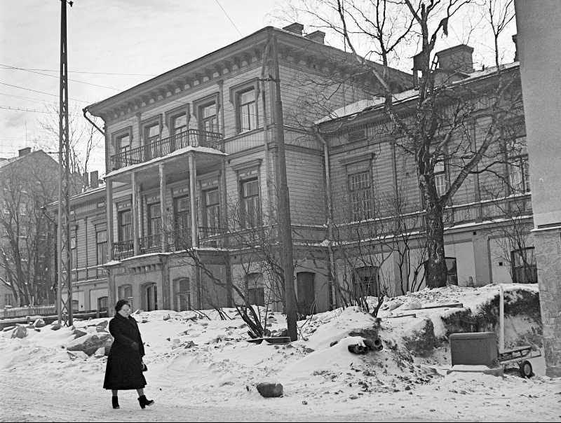 Kadonnutta Helsinkiä: Kammion mielisairaala
