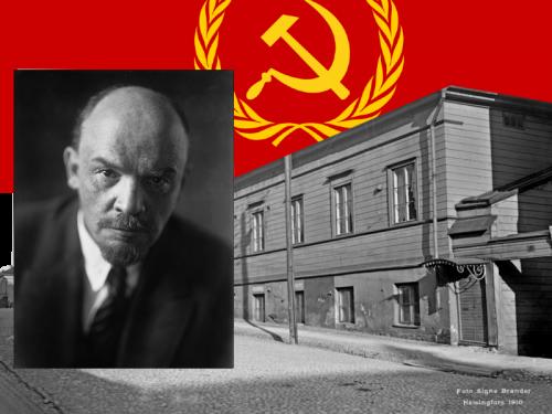 Lenin, vallankumous ja Suomi