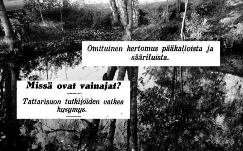 Jäljet johtavat sylttytehtaalle - rikoshistoriaa Kalliossa